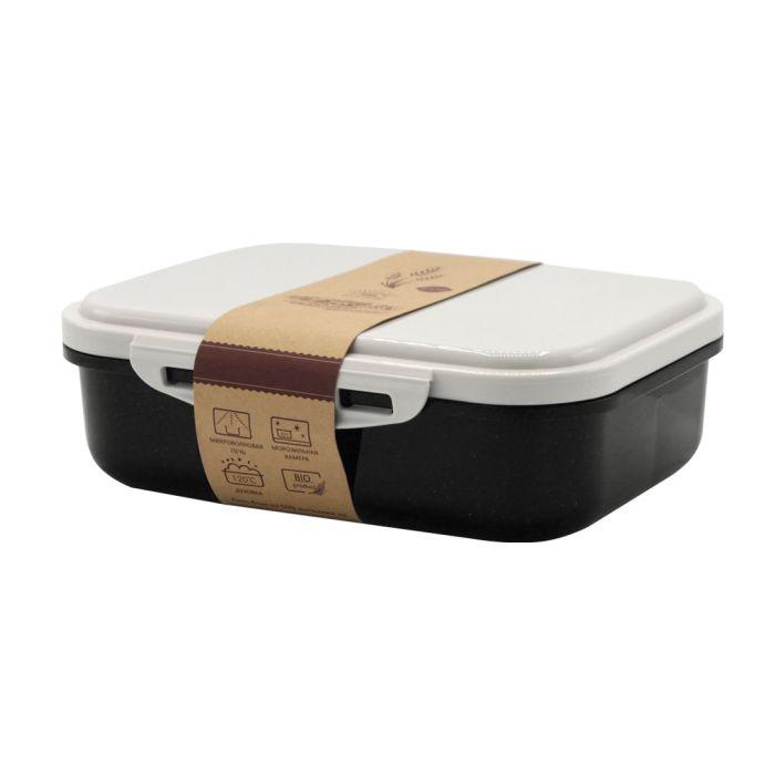 Ланчбокс (контейнер для еды) Frumento - Черный AA, 1000 мл