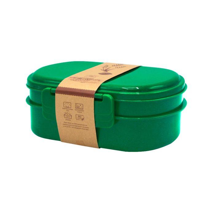 Ланчбокс (контейнер для еды) Grano - Зеленый FF, 900 мл