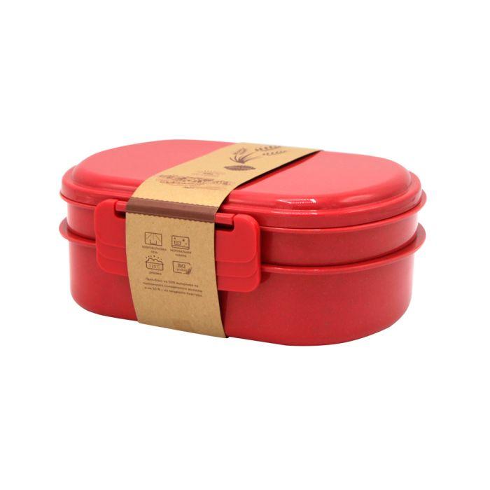 Ланчбокс (контейнер для еды) Grano - Красный PP, 900 мл