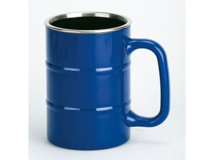 """Кружка """"Баррель"""" на 400 мл, синяя"""