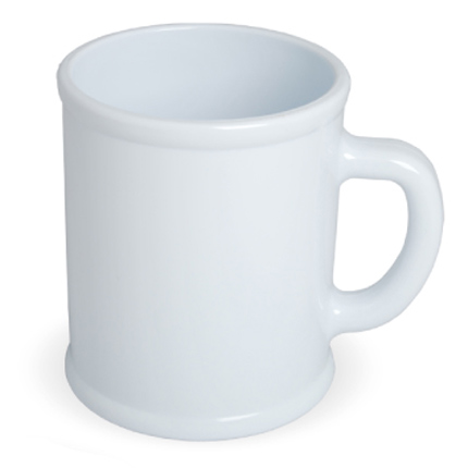 Кружка пластмассовая Lekker, цвет белый