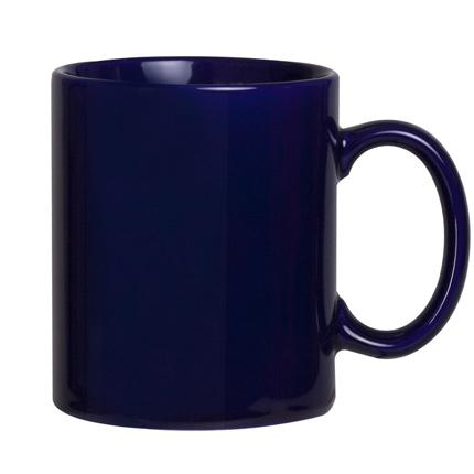 Кружка Promo, 300 мл, темно-синяя