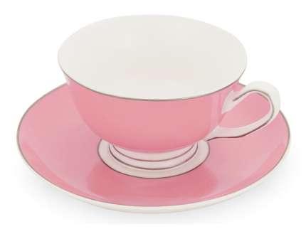 """Чайная пара """"Прованс"""", розовая"""