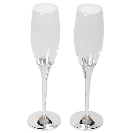 "Набор из 2-х бокалов для шампанского ""Crystal"""