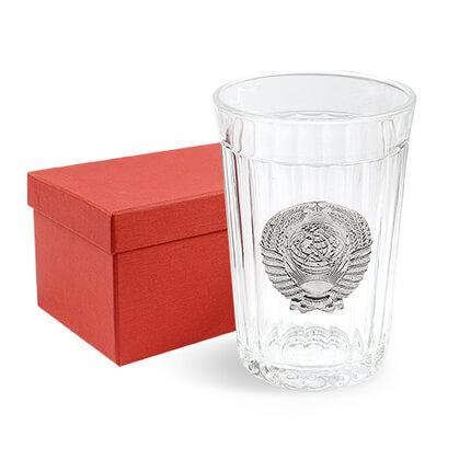 """Гранёный стакан """"ЭПОХА ЗАСТОЯ"""""""