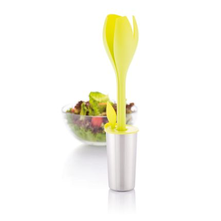 Набор для салата Tulip, цвет зеленый