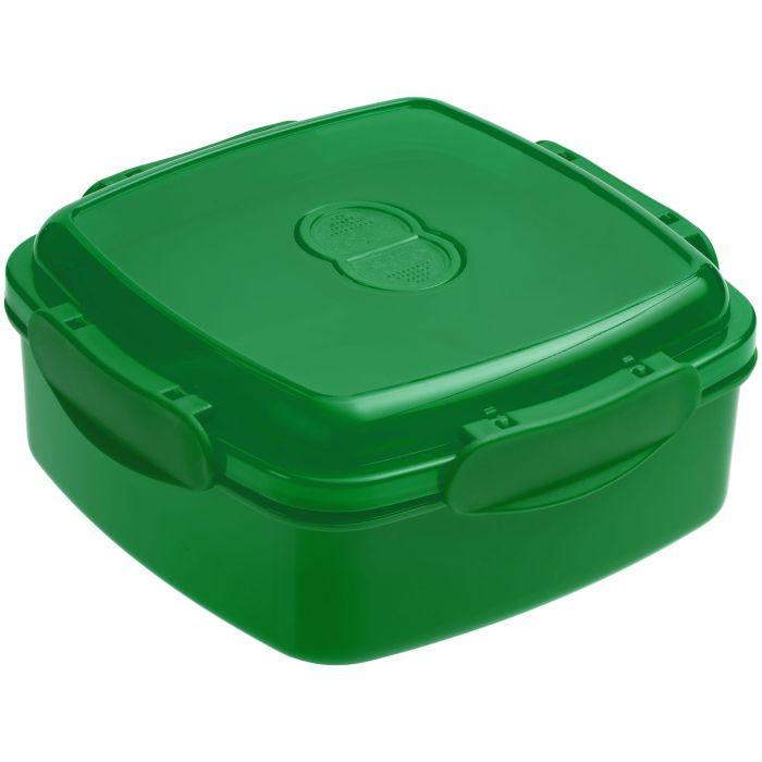 Ланчбокс Cube, зелёный