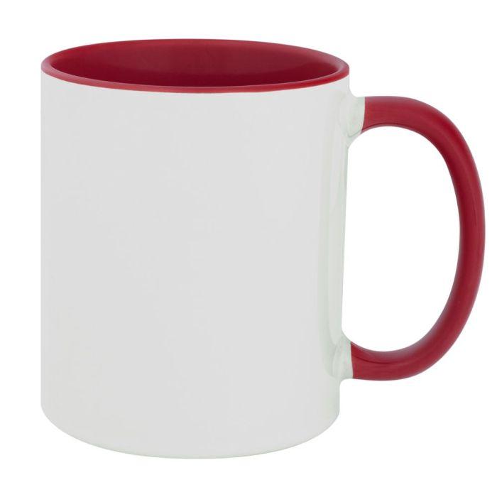 Кружка Promo Plus для сублимационной печати, 330 мл, цвет красный