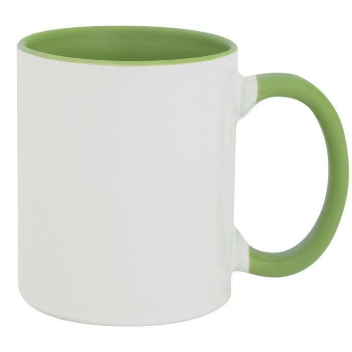 Кружка Promo Plus для сублимационной печати, 330 мл, цвет зелёное яблоко