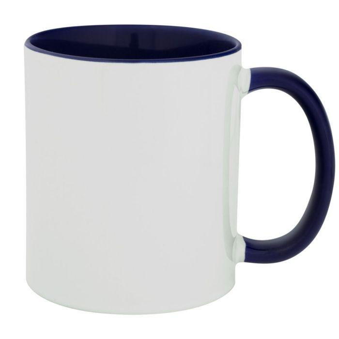 Кружка Promo Plus для сублимационной печати, 330 мл, цвет синий
