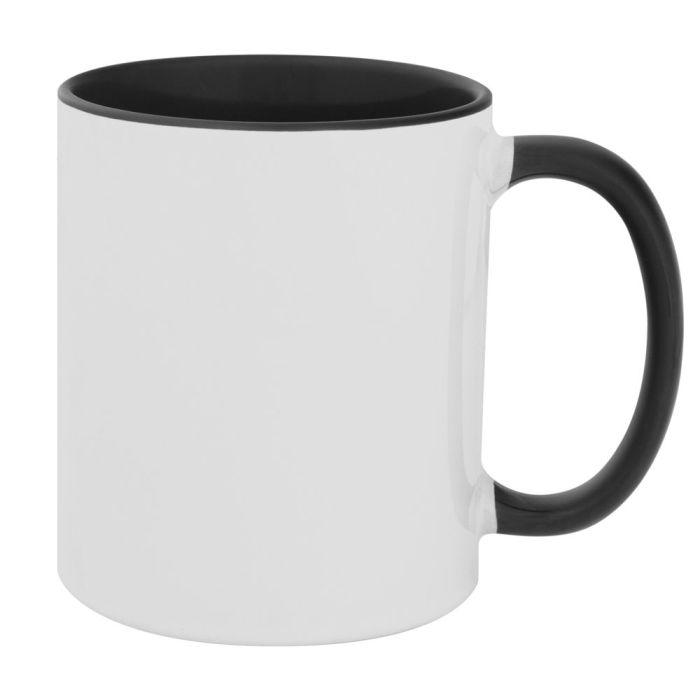Кружка Promo Plus для сублимационной печати, 330 мл, цвет чёрный