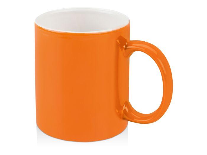 """Кружка """"Марко"""", 320 мл, внутри белая, цвет оранжевый"""