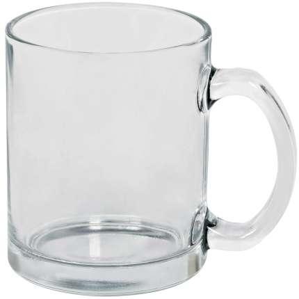 """Кружка стеклянная """"Clear"""", 320 мл, прозрачная"""