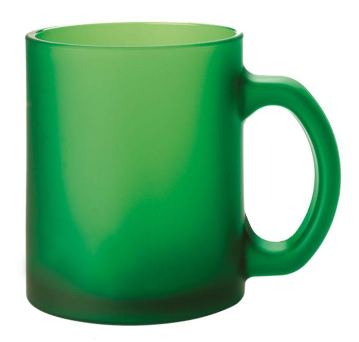 Кружка Foggy матовая, 290 мл, зелёная