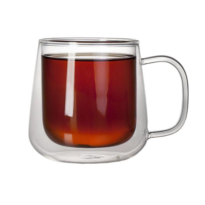 Чашка с двойными стенками Glass First, 350 мл