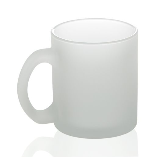 Кружка стекло матовая 330мл стандарт
