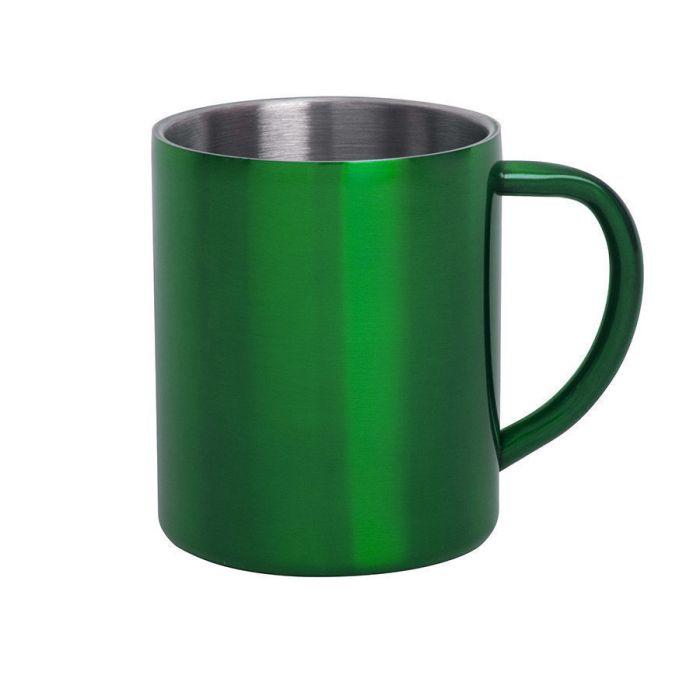 Кружка YOZAX, 300 мл, цвет зелёный