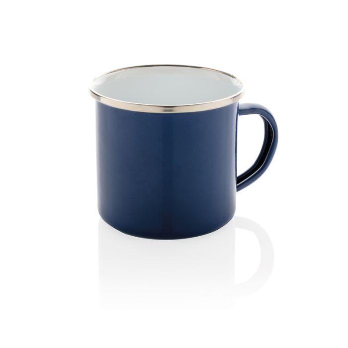 Эмалированная кружка Vintage, 350 мл, цвет синий