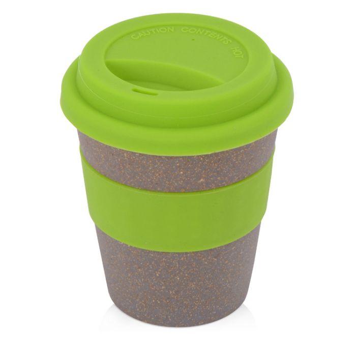 """Стакан из бамбукового волокна """"Cafe"""", 350 мл, цвет зелёное-яблоко"""