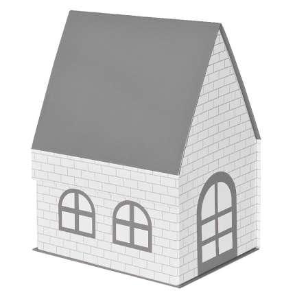 """Упаковка подарочная, коробка """"ДОМ"""" складная, размер 15х21х27 см, цвет серый"""