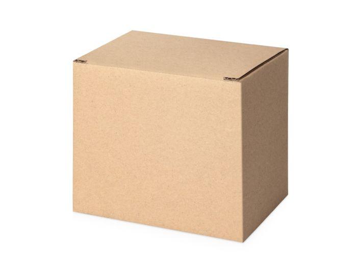 Коробка для кружки, размер 11,7х8,5х10 см, коричневая