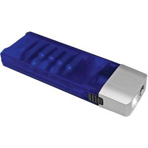 Набор отверток с фонариком, синий