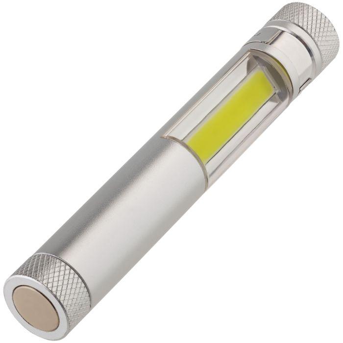 Фонарик-факел LightStream, малый, серый