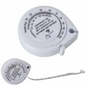 Рулетка (1,5 м) с индексом массы тела