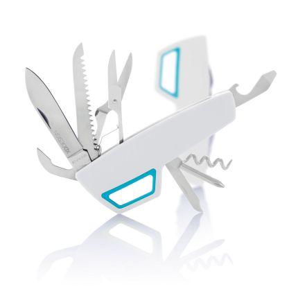 Карманный нож Tovo с карабином, белый