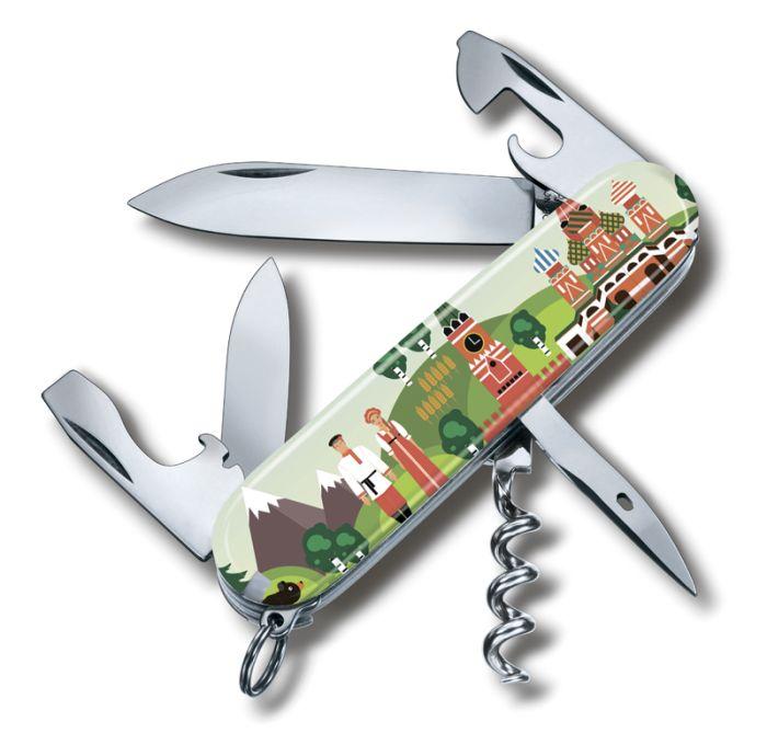 Нож перочинный VICTORINOX Spartan Из России с любовью, 91 мм, 12 функций