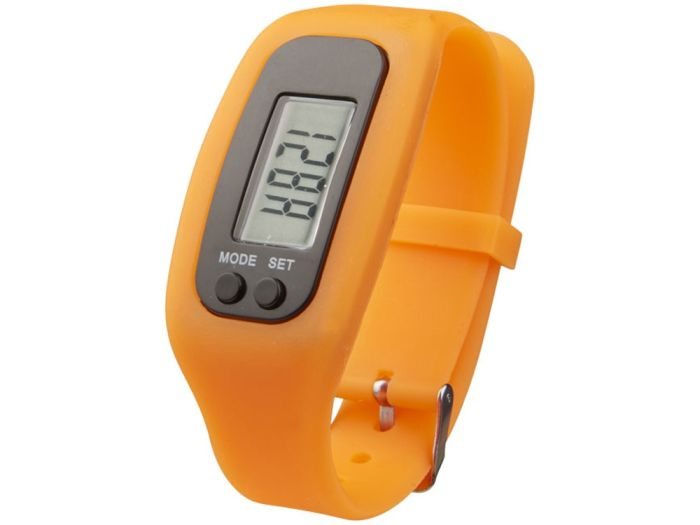 """Смарт часы с шагомером """"Get-Fit"""", цвет оранжевый"""