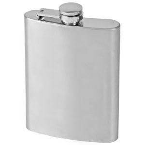 """Фляжка """"Silver"""", 235 мл, металл, цвет серебристый"""