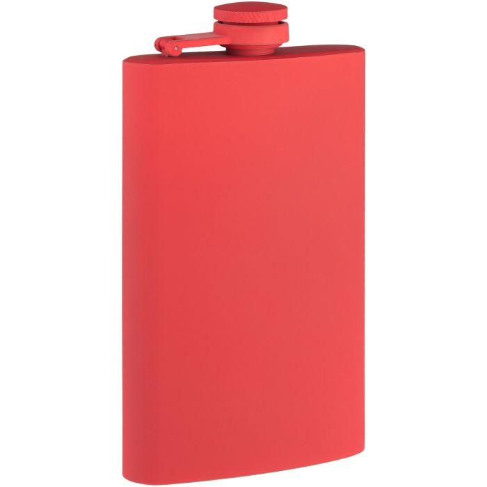 Фляжка Painkiller, 178 мл, с покрытием SOFT TOUCH, красная