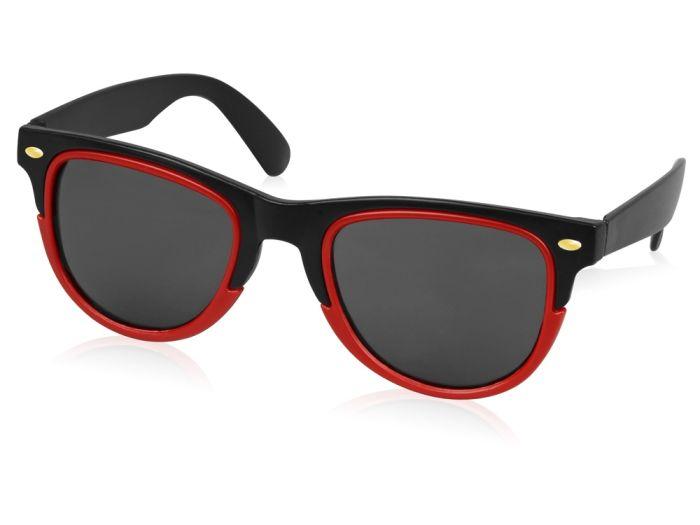 """Очки солнцезащитные """"Rockport"""", цвет чёрный с красным"""