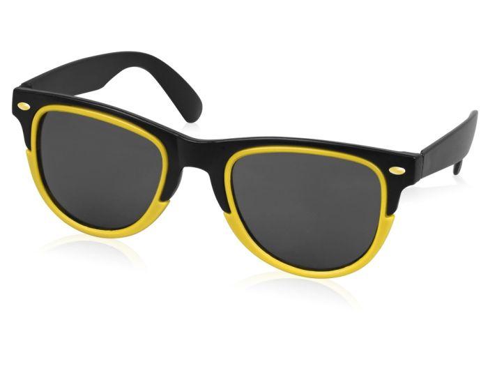 """Очки солнцезащитные """"Rockport"""", цвет чёрный с жёлтым"""