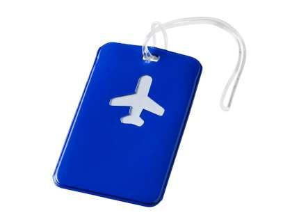 """Бирка для багажа """"Voyage"""", синяя"""
