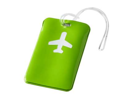 "Бирка для багажа ""Voyage"", зелёная"