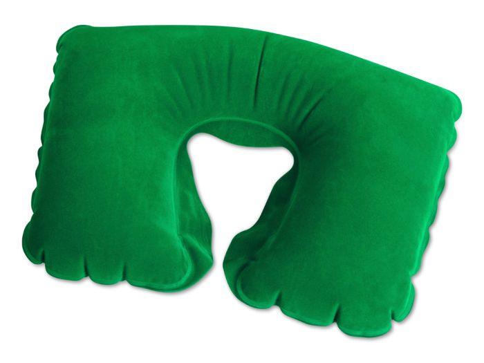 """Подушка надувная """"Сеньос"""", зелёная"""