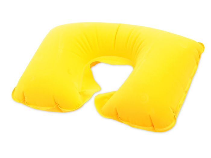 """Подушка надувная """"Сеньос"""", жёлтая"""