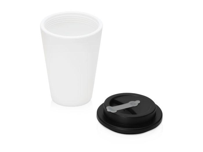 Пластиковый стакан для кофе с двойными стенками «Take away»,черный