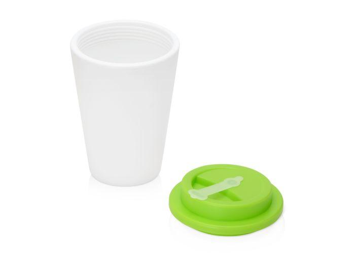 Пластиковый стакан для кофе с двойными стенками «Take away», салатовый