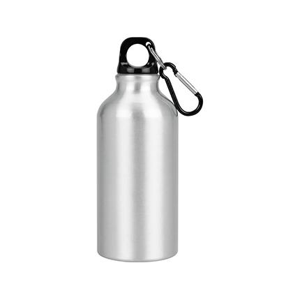 """Бутылка """"Oregon"""" с карабином, объём 400 мл, цвет серебристый"""