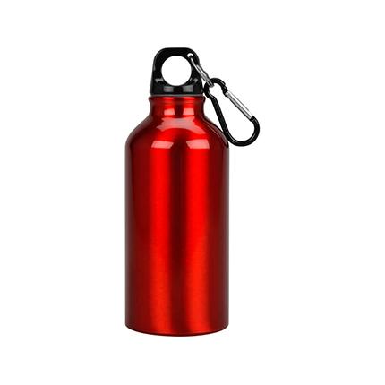 """Бутылка """"Oregon"""" с карабином, объём 400 мл, цвет красный"""