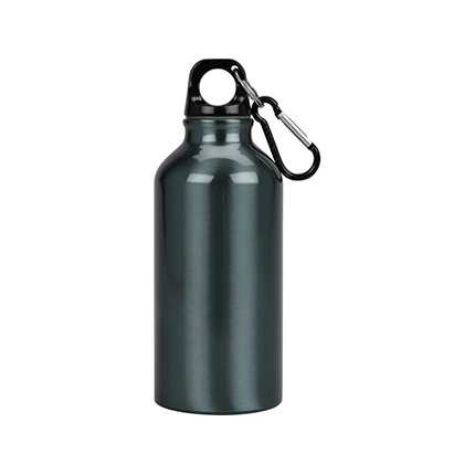"""Бутылка """"Oregon"""" с карабином, объём 400 мл, цвет мокрый асфальт"""