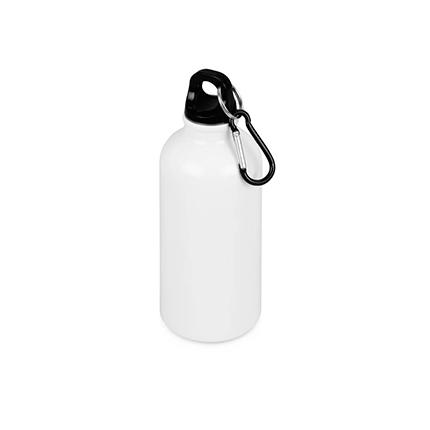 """Бутылка """"Oregon"""" с карабином, объём 400 мл, цвет белый"""