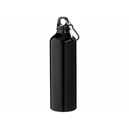 """Бутылка """"Pacific"""" с карабином, объём 770 мл, цвет чёрный"""