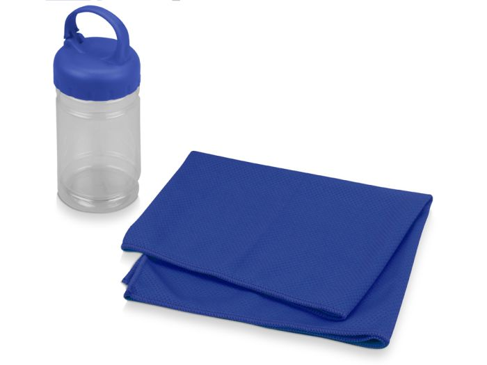"Набор для фитнеса ""Cross"", цвет синий"
