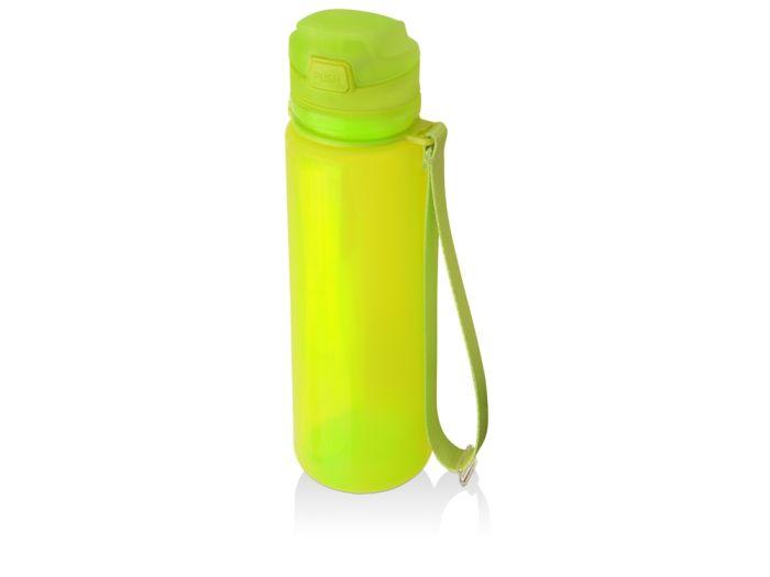 """Складная бутылка """"Твист"""", объем 500 мл, цвет зелёное яблоко"""