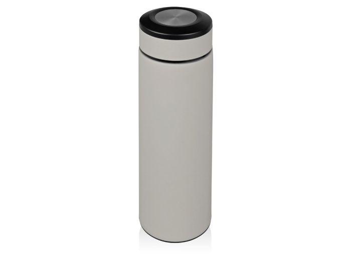 "Термоc ""Confident"" с покрытием SOFT TOUCH, 480 мл, цвет серый"