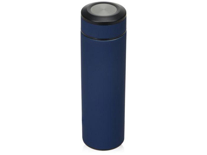 "Термоc ""Confident"" с покрытием SOFT TOUCH, 480 мл, цвет тёмно-синий"